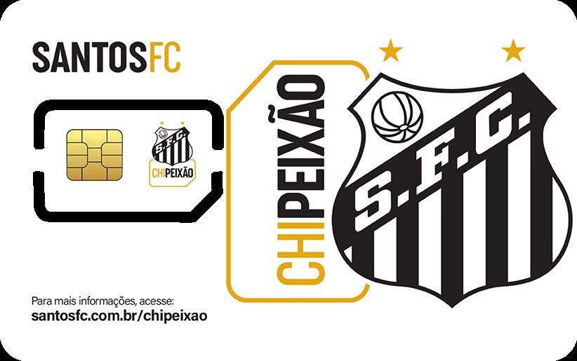 Santos FC Chip